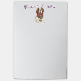 St. Bernard Heart Mom Post-it® Notes