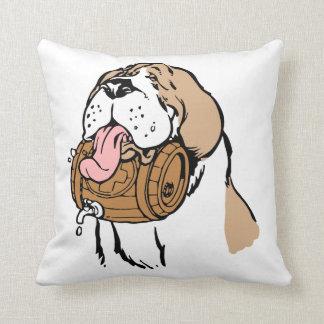 St. Bernard Keg Dog Cushion