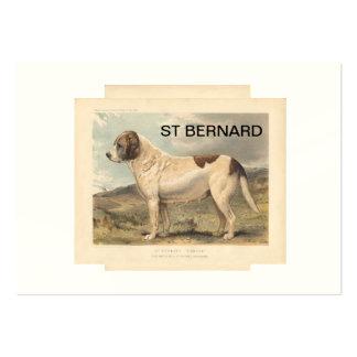 ST BERNARD MAGNET BUSINESS CARD TEMPLATE