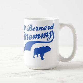 St Bernard  Mommy Mug