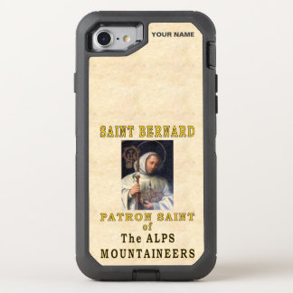 St. BERNARD  (Patron Saint of Mountaineers) OtterBox Defender iPhone 7 Case