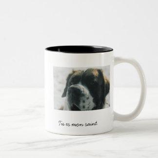 St Bernard Two-Tone Mug