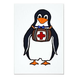 St Bernard's Penguin Invitations
