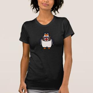 St Bernard's Penguin Womens T-Shirt
