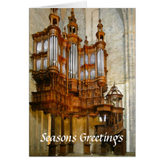 St Bertrand-de-Comminges organ Card