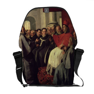 St. Bonaventure (1221-74) at the Council of Lyons Messenger Bags