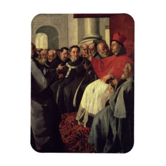 St. Bonaventure (1221-74) at the Council of Lyons Rectangular Photo Magnet