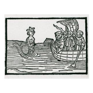 St. Brendan and the Siren Postcard