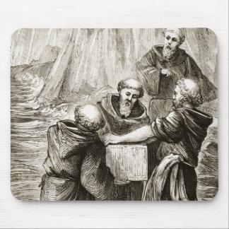 St. Brigit's box, from 'The Trias Thaumaturga, or Mouse Pad