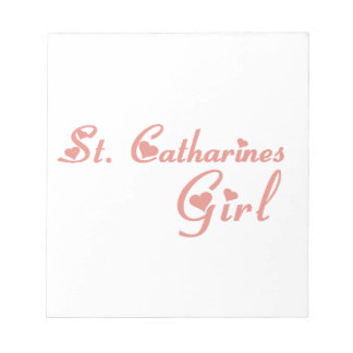 St. Catharines Girl Notepad