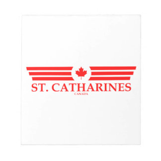 ST. CATHARINES NOTEPAD