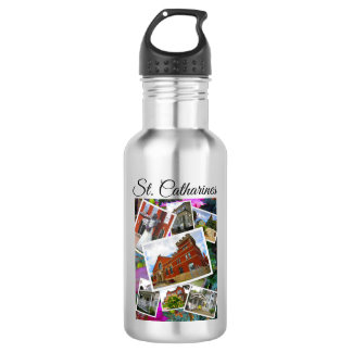 St. Catharines Photo Collage 532 Ml Water Bottle