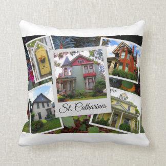 St. Catharines Photo Collage Cushion