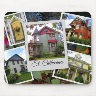 St. Catharines Photo Collage Mouse Pad