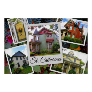 St. Catharines Photo Collage Poster