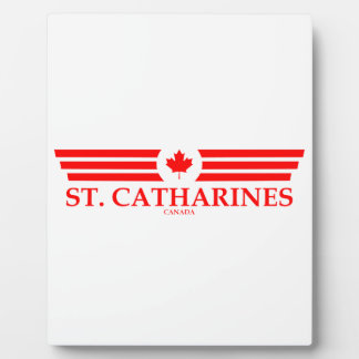 ST. CATHARINES PLAQUE