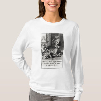 St. Catherine Exorcising a Demon from a Woman T-Shirt