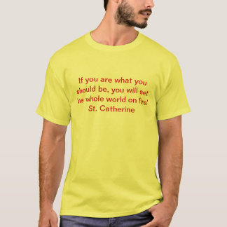 St Catherine Fire T-shirt