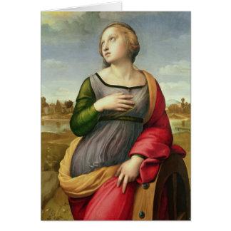 St. Catherine of Alexandria, 1507-8 Card
