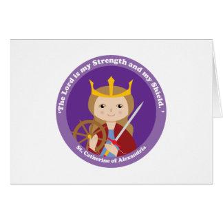 St. Catherine of Alexandria Card