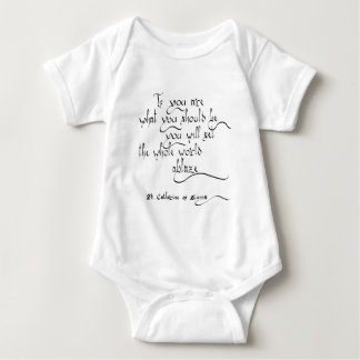 """St. Catherine of Siena"" Baby Bodysuit"