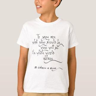 """St. Catherine of Siena"" T-Shirt"