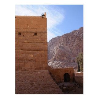 St. Catherine's Monastery, South Sinai, Egypt Postcard