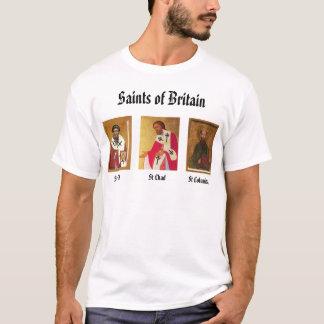 St Cedd, St. Chad, St Columba, Saints of Britai... T-Shirt