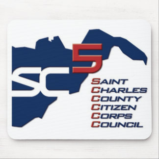 St. Charles County Citizen Corps Council Mousepad
