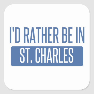 St. Charles Square Sticker