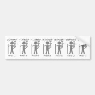 St Christopher Bumper Sticker