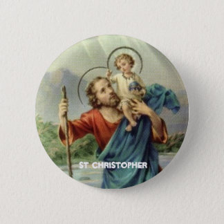 St Christopher Button