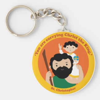 St. Christopher Key Ring