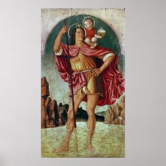 St. Christopher Poster