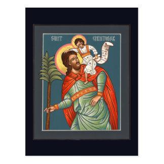 St. Christopher Prayer Card