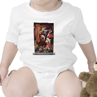 St. Christopher With The Christ Child Baby Bodysuits