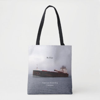 St. Clair all over tote bag