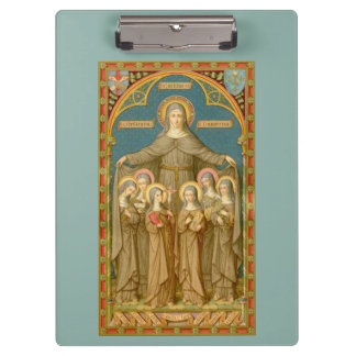 St. Clare of Assisi & Nuns (SAU 27) Clipboard