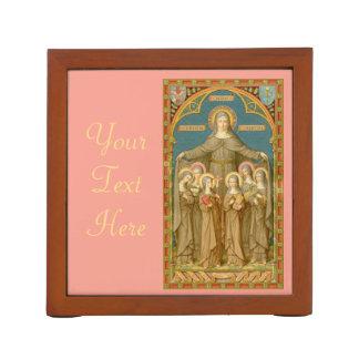 St. Clare of Assisi & Nuns (SAU 27) Desk Organiser