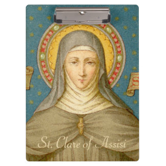 St. Clare of Assisi (SAU 027) Clipboard