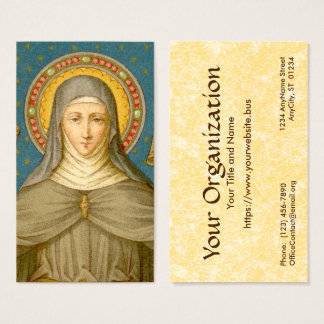 St. Clare of Assisi (SAU 027) FB Standard Business Card
