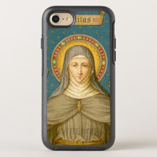St. Clare of Assisi (SAU 027) OtterBox Symmetry iPhone 8/7 Case