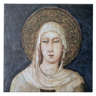 ST CLARE OF ASSISI, TILE
