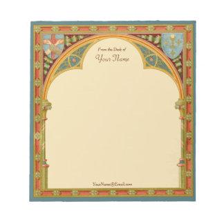 "St. Clare's Trefoil Arch (SAU 27) 5.5""x6"" Notepad"