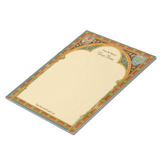 "St. Clare's Trefoil Arch (SAU 27) 8.5""x11"" Notepad"
