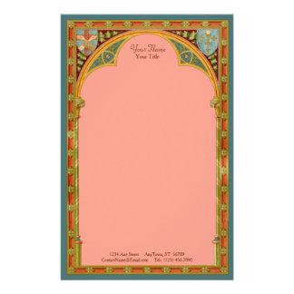 St. Clare's Trefoil Arch (SAU 27) (Sheet A) Stationery