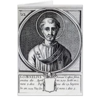 St. Cornelius Greeting Card
