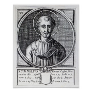 St. Cornelius Poster