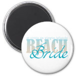 St Croix Beach Bride Magnet