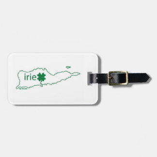 St Croix St Paddy's Luggage Tag
